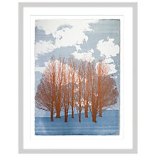 Buy Anna Hanley - Cloud Willow Limited Edition Framed Screenprint, 96 x 76cm Online at johnlewis.com