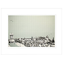 Buy Clare Halifax - Eye Spy Edinburgh Limited Edition Framed Screenprint, H73 x W93cm Online at johnlewis.com