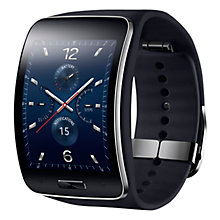 Buy Samsung Gear S Smartwatch, Tizen, 4GB, Wi-Fi & 3G, SIM Free Online at johnlewis.com