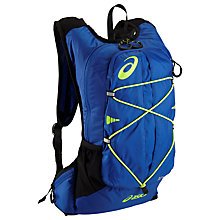 Buy Asics Lightweight Running Backpack, Blue Online at johnlewis.com
