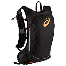 Buy Asics Fujitrail Lightweight Running Backpack, Black Online at johnlewis.com