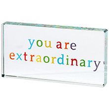 Buy Spaceform You are Extraordinary Landscape Token Online at johnlewis.com