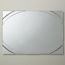 Buy John Lewis Invitro Rectangular Mirror, 107 x 87cm Online at johnlewis.com