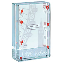 Buy Love You Hearts Dinky Frame Online at johnlewis.com