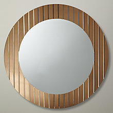 Buy John Lewis Hotel Circle Mirror, Dia. 106cm Online at johnlewis.com