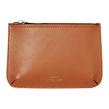 Buy Modalu Heirloom Leather Zip Pouch Online at johnlewis.com