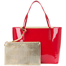Buy Ted Baker Kingey Cross Hatch Shopper Bag Online at johnlewis.com