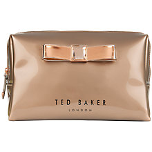 Buy Ted Baker Giller Large Bow Wash Bag Online at johnlewis.com