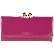 Buy Ted Baker Missti Patent Leather Crystal Matinee Purse Online at johnlewis.com