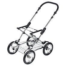 Buy Silver Cross Elegance Pram Chassis Online at johnlewis.com