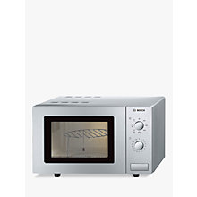 Buy Bosch HMT72G450B Microwave with Grill, Stainless Steel Online at johnlewis.com