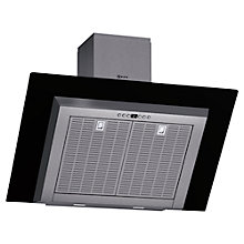 Buy Neff D39GL64S0B Chimney Cooker Hood, Stainless Steel / Black Online at johnlewis.com