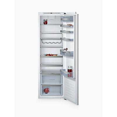 tall integrated larder fridge shop for cheap fridges and. Black Bedroom Furniture Sets. Home Design Ideas
