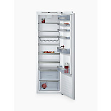 Buy Neff KI1813F30G Tall Integrated Larder Fridge, A++ Energy Rating, 56cm Wide Online at johnlewis.com