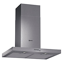 Buy Neff D76SR22N0B Chimney Cooker Hood, Stainless Steel Online at johnlewis.com