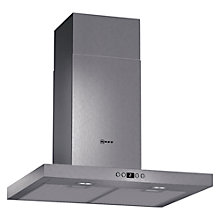 Buy Neff D76SH52N0B Chimney Cooker Hood, Stainless Steel Online at johnlewis.com
