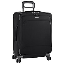 Buy Briggs & Riley Transcend Expandable 4-Wheel Medium Suitcase, Black Online at johnlewis.com