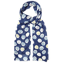 Buy White Stuff Gypsy Geo Spot Scarf, Blue Online at johnlewis.com