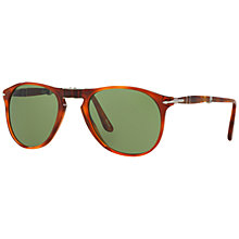 Buy Persol PO9714S Polarised Pilot Sunglasses Online at johnlewis.com