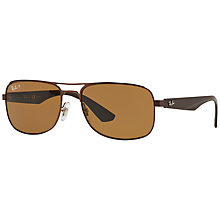 Buy Ray-Ban RB3524 Pilot Sunglasses Online at johnlewis.com