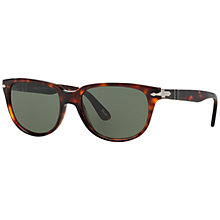 Buy Persol PO3104S Square Sunglasses, Havana Online at johnlewis.com