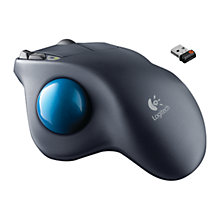 Buy Logitech M570 Wireless Trackball Mouse Online at johnlewis.com