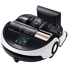 Buy Samsung Powerbot VR9000 Vacuum Cleaner, Black/Silver Online at johnlewis.com