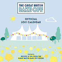 Buy The Great British Bake Off 2015 Wall Calendar Online at johnlewis.com
