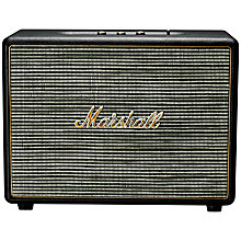 Buy Marshall Woburn Speaker with Bluetooth Online at johnlewis.com