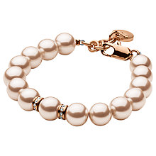 Buy Dyrberg/Kern Missia Brass Beads Bracelet Online at johnlewis.com