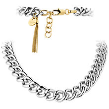 Buy Dyrberg/Kern Fundrina Brass Necklace Online at johnlewis.com