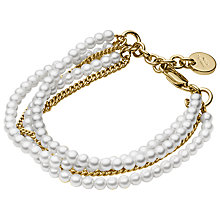 Buy Dyrberg/Kern Magali Brass Bead Bracelet Online at johnlewis.com