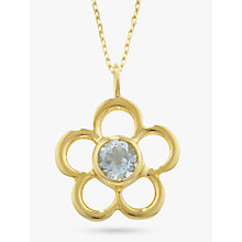 Buy EWA Birthstone Pendant Necklace Online at johnlewis.com