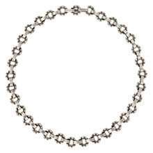 Buy Sharon Mills Vintage 1950s Silver Plated Flower Necklace, Silver Online at johnlewis.com