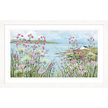 Buy Diane Demirci - Cliff Top Cottage Framed Print, 67 x 107cm Online at johnlewis.com