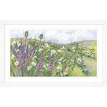 Buy Diane Demirci - Bramble Blossom Framed Print,107 x 67cm Online at johnlewis.com