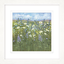 Buy Diane Demirci - Daisy Meadow Framed Print, 57 x 57cm Online at johnlewis.com