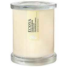 Buy Ecoya Metro Jar Vanilla Bean Candle Online at johnlewis.com