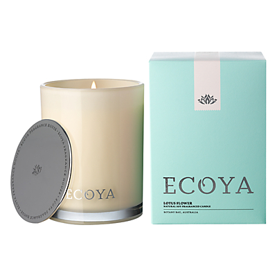 Ecoya Madison Jar Lotus Flower Candle