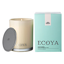 Buy Ecoya Madison Jar Lotus Flower Candle Online at johnlewis.com