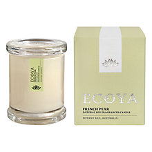 Buy Ecoya Mini Metro Jar French Pear Candle Online at johnlewis.com