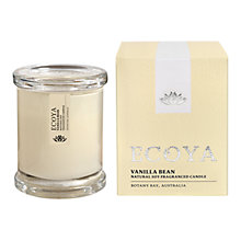 Buy Ecoya Mini Metro Jar Vanilla Bean Candle Online at johnlewis.com