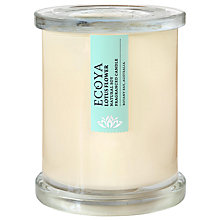Buy Ecoya Metro Jar Lotus Flower Candle Online at johnlewis.com