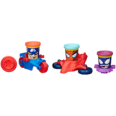 Play-Doh Marvel Can Vehicles
