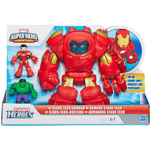 Buy Marvel Super Hero Adventures Playskool Marvel Heroes Stark Tech Armour Online at johnlewis.com