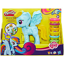 Buy Play-Doh My Little Pony Rainbow Dash Style Salon Online at johnlewis.com