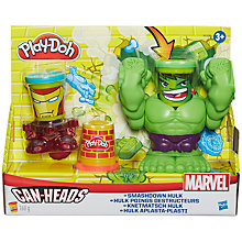 Buy Play-Doh Marvel Hulk Smash Can-Heads Online at johnlewis.com