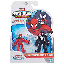 Buy Marvel Super Hero Adventures Playskool Hero Figures, Assorted Online at johnlewis.com