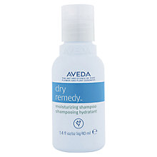 Buy AVEDA Dry Remedy™ Moisturising Shampoo, 40ml Online at johnlewis.com