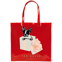 Buy Ted Baker Boxcon Graphic Shopper Bag Online at johnlewis.com